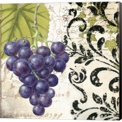 Les Fruits Jardin II Gallery Wrapped Canvas Wall Art On Deep Stretch Bars