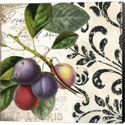 Metaverse Art Les Fruits Jardin III Gallery Wrapped Canvas Wall Art