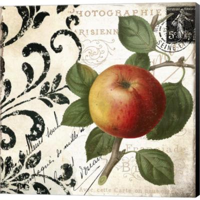 Metaverse Art Les Fruits Jardin IV Gallery WrappedCanvas Wall Art