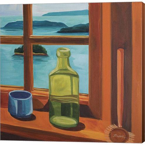 Liz's Window Gallery Wrapped Canvas Wall Art On Deep Stretch Bars