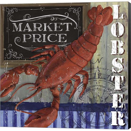 Metaverse Art Lobster Gallery Wrapped Canvas WallArt