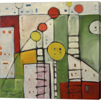 Metaverse Art Lulus Playground Gallery Wrapped Canvas Wall Art