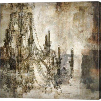 Metaverse Art Lumieres I Gallery Wrapped Canvas Wall Art