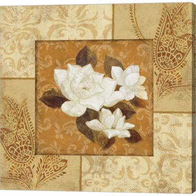 Magnolia 1 Gallery Wrapped Canvas Wall Art On DeepStretch Bars