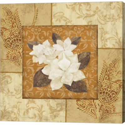 Metaverse Art Magnolia 2 Gallery Wrapped Canvas Wall Art
