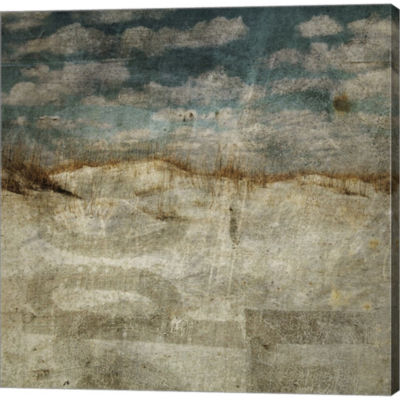 Metaverse Art Masonboro Island No. 12 Gallery Wrapped Canvas Wall Art