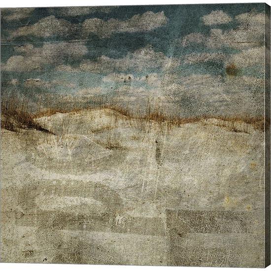 Metaverse Art Masonboro Island No. 12 Gallery Wrapped Canvas Wall Art