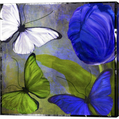 Morphos Two Gallery Wrapped Canvas Wall Art On Deep Stretch Bars