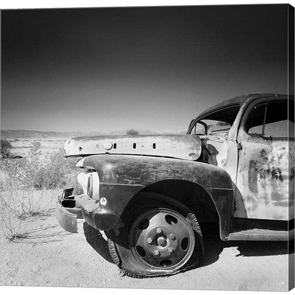 Metaverse Art Namibia Rotten Car Gallery Wrapped Canvas Wall Art