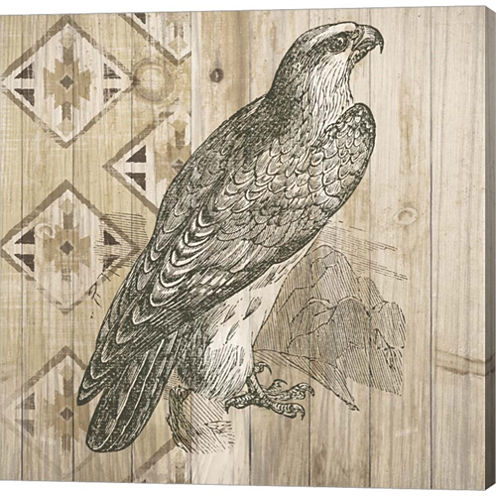 Natural History Lodge V Gallery Wrapped Canvas Wall Art On Deep Stretch Bars