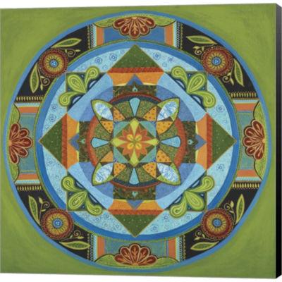 Next Year Mandala Gallery Wrapped Canvas Wall ArtOn Deep Stretch Bars