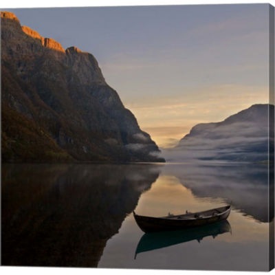 Metaverse Art Norway 10 Gallery Wrapped Canvas Wall Art