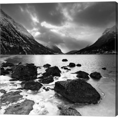 Metaverse Art Norway 12 Gallery Wrapped Canvas Wall Art