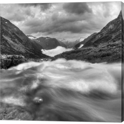 Metaverse Art Norway 13 Gallery Wrapped Canvas Wall Art