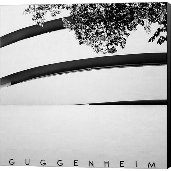 Metaverse Art NYC Guggenheim Gallery Wrapped Canvas Wall Art