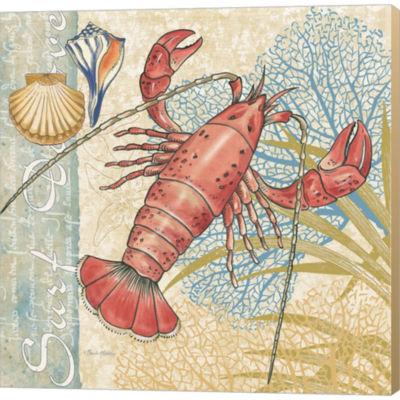 Metaverse Art Oceana I Gallery Wrapped Canvas WallArt