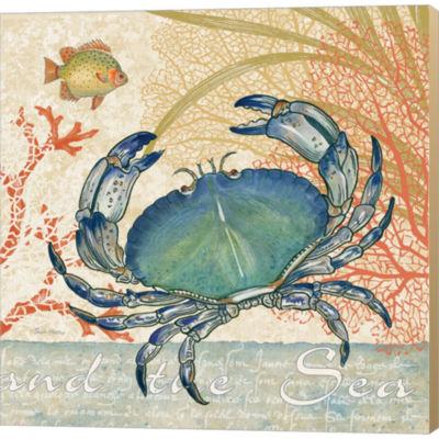 Metaverse Art Oceana II Gallery Wrapped Canvas Wall Art
