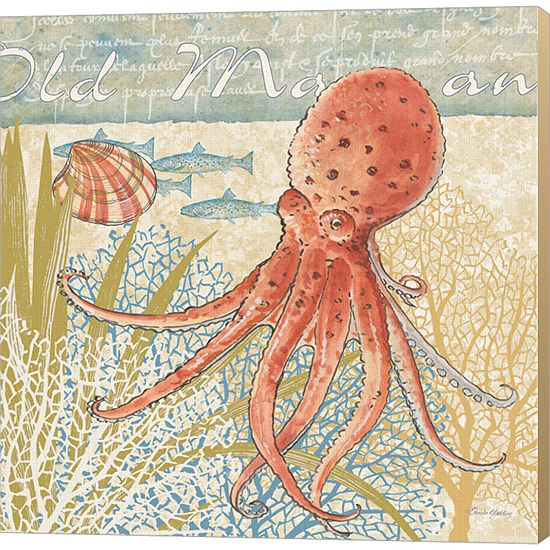Metaverse Art Oceana IV Gallery Wrapped Canvas Wall Art