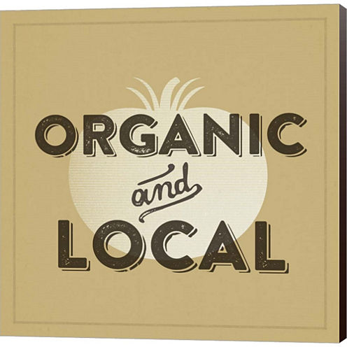 Organic And Local II Gallery Wrapped Canvas Wall Art On Deep Stretch Bars