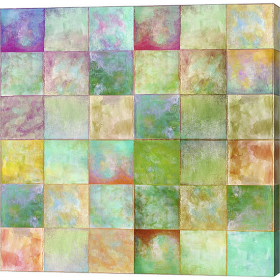 Metaverse Art Paintbox Gallery Wrapped Canvas WallArt