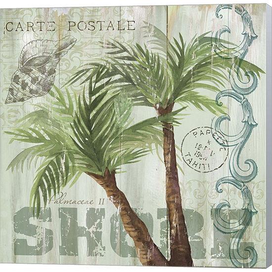 Metaverse Art Palmaceae II Gallery Wrapped CanvasWall Art