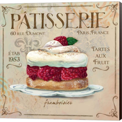 Metaverse Art Patisserie I Gallery Wrapped CanvasWall Art