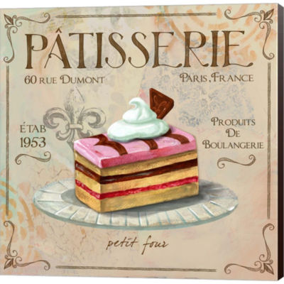 Metaverse Art Patisserie II Gallery Wrapped CanvasWall Art