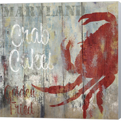 Metaverse Art Resturant Seafood II Gallery WrappedCanvas Wall Art