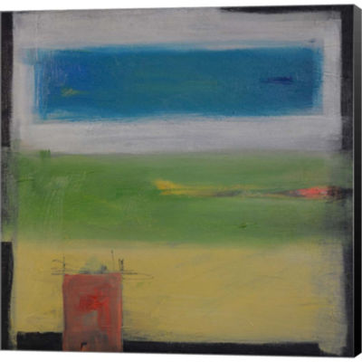 Metaverse Art Rural Abstract Gallery Wrapped Canvas Wall Art