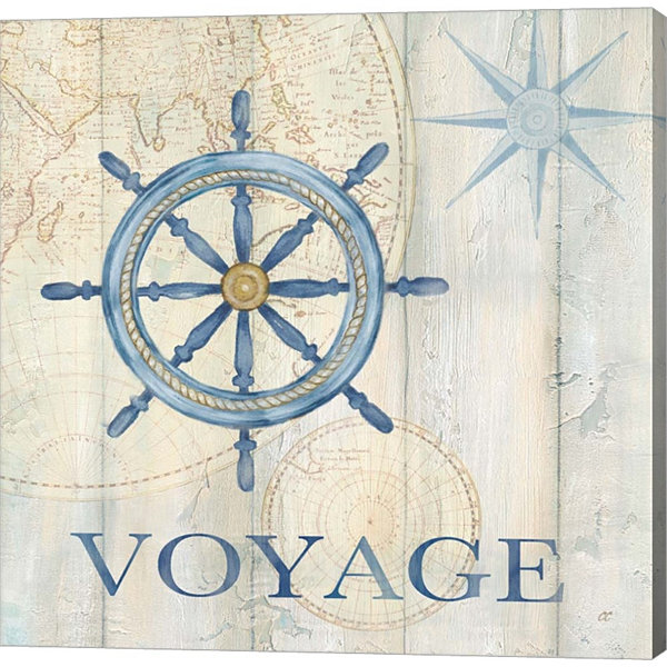 Metaverse Art Sail Away IV Gallery Wrapped CanvasWall Art
