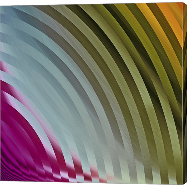 Metaverse Art Satin I Gallery Wrapped Canvas WallArt