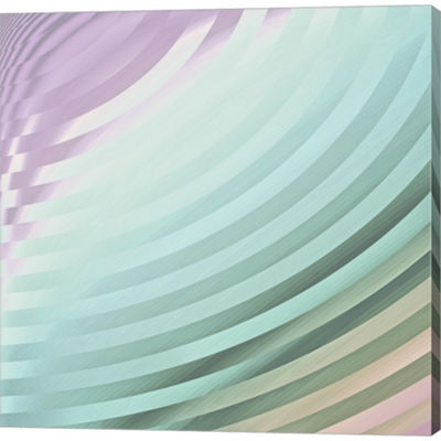 Metaverse Art Satin IV Gallery Wrapped Canvas WallArt