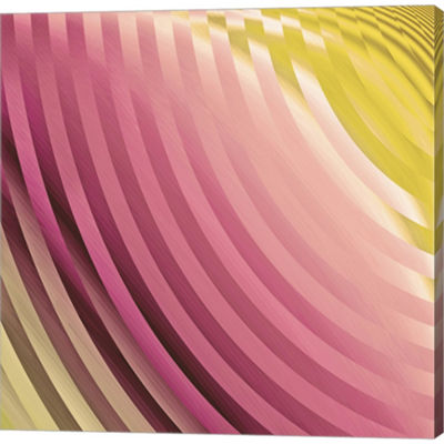 Metaverse Art Satin V Gallery Wrapped Canvas WallArt