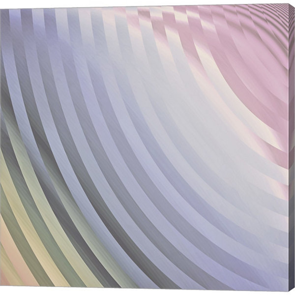 Metaverse Art Satin VI Gallery Wrapped Canvas WallArt