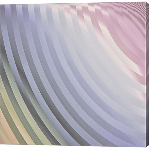 Satin VI Gallery Wrapped Canvas Wall Art On Deep Stretch Bars