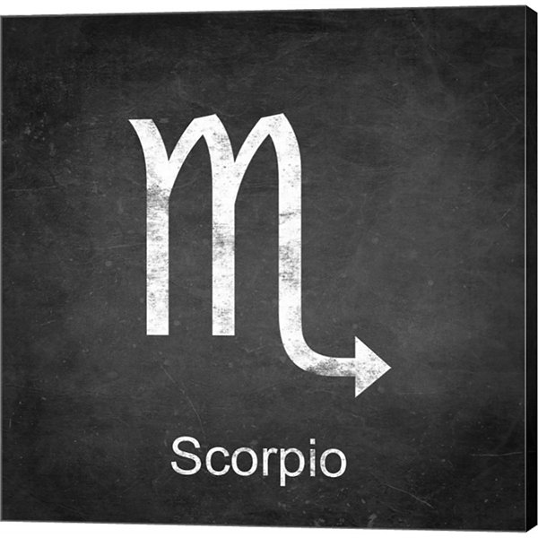 Metaverse Art Scorpio Gallery Wrapped Canvas WallArt