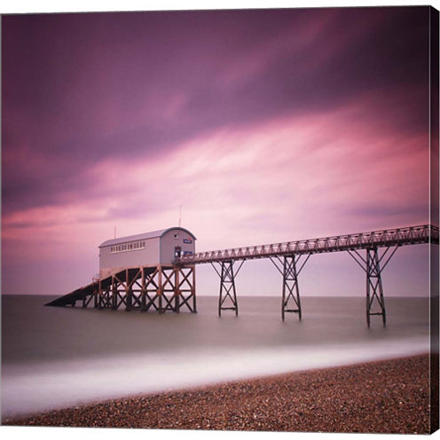 Selsey Lifeboat Station Gallery Wrapped Canvas Wall Art On Deep Stretch Bars