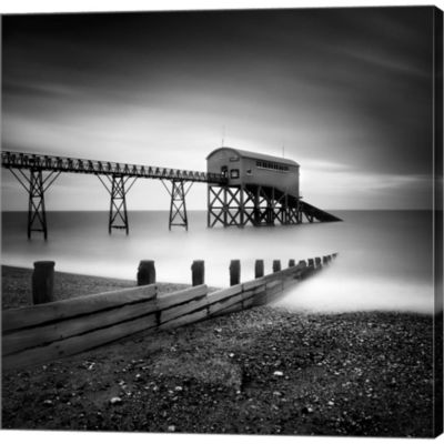 Metaverse Art Selsey Lifeboat Station II Gallery Wrapped Canvas Wall Art