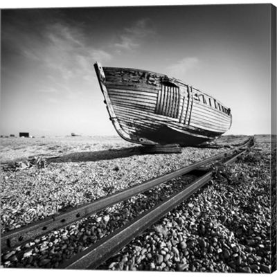 Metaverse Art Ship Wreck I Gallery Wrapped CanvasWall Art