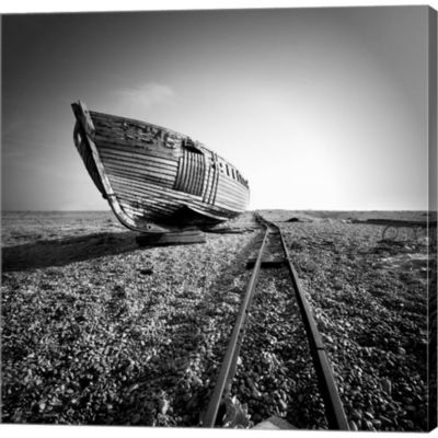 Metaverse Art Ship Wreck II Gallery Wrapped CanvasWall Art
