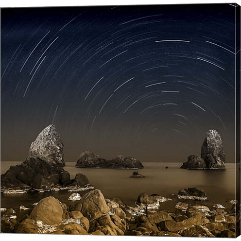 Starry Night Gallery Wrapped Canvas Wall Art On Deep Stretch Bars
