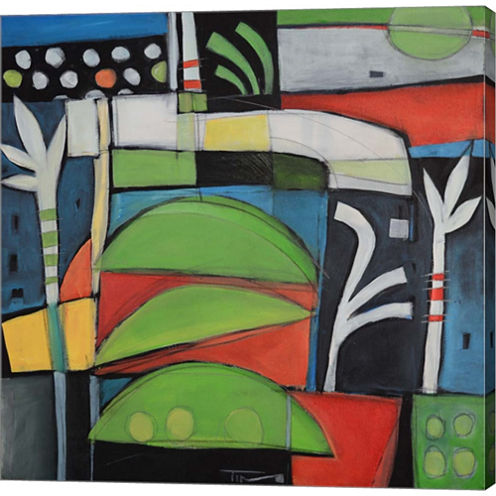 Still Life With Lime Wedges Gallery Wrapped CanvasWall Art On Deep Stretch Bars