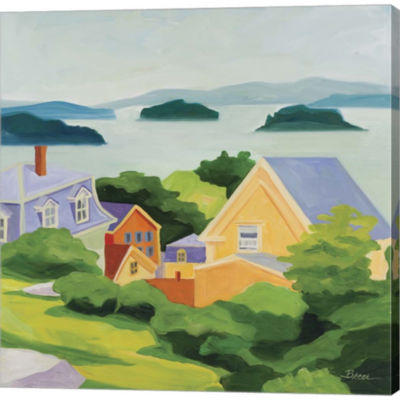 Metaverse Art Stonington Gallery Wrapped Canvas Wall Art