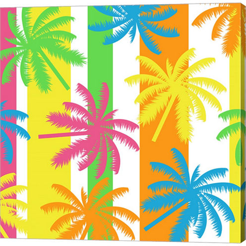 Summer Fun V Gallery Wrapped Canvas Wall Art On Deep Stretch Bars
