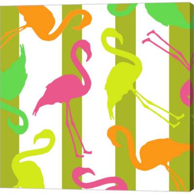 Metaverse Art Summer Fun VI Gallery Wrapped CanvasWall Art