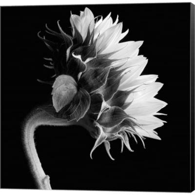 Metaverse Art Sunflower Gallery Wrapped Canvas Wall Art