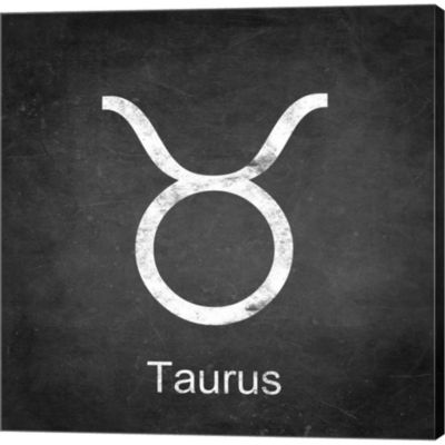 Metaverse Art Taurus Gallery Wrapped Canvas Wall Art