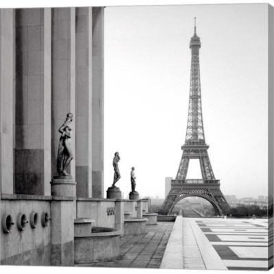 Metaverse Art Tour Eiffel 5 Gallery Wrapped CanvasWall Art