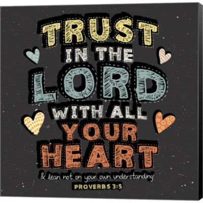 Metaverse Art Trust In The Lord Gallery Wrapped Canvas Wall Art