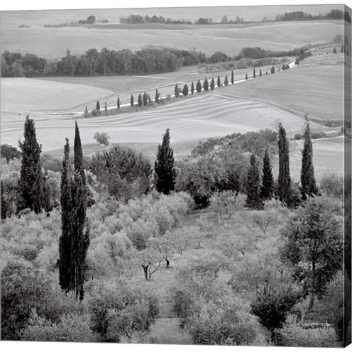 Tuscany VI Gallery Wrapped Canvas Wall Art On DeepStretch Bars